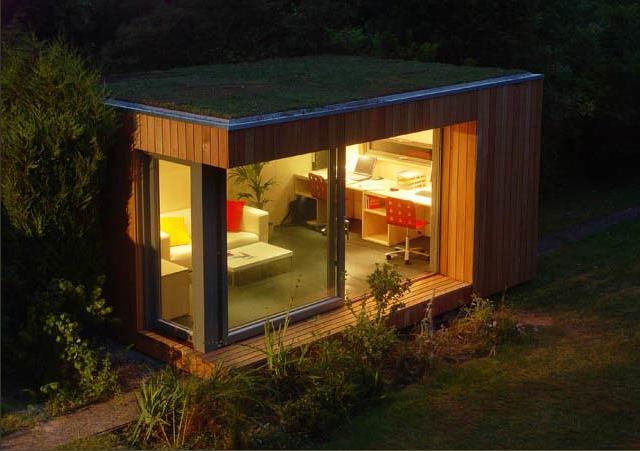 great backyard office ideas heluva studios brisbane